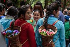 Trabajadores de China Fotografía de archivo