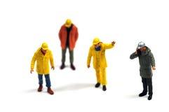 Trabajadores de construcción Foto de archivo