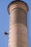 Trabajadores de la chimenea Fotografía de archivo libre de regalías