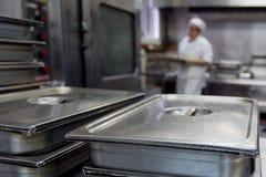 Trabajadores 016 de la cocina Imagen de archivo libre de regalías