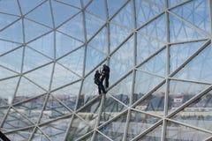 Trabajadores de la seguridad Fotografía de archivo libre de regalías