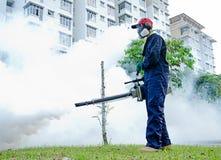 Trabajadores de las higienes ambientales Imagen de archivo libre de regalías