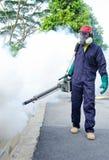 Trabajadores de las higienes ambientales Fotografía de archivo