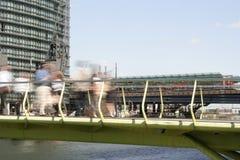Trabajadores de los Docklands foto de archivo libre de regalías