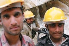 Trabajadores del camino imágenes de archivo libres de regalías