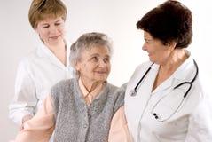 Trabajadores del cuidado médico Imágenes de archivo libres de regalías