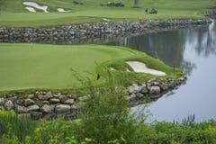 Trabajadores del golf Fotografía de archivo libre de regalías