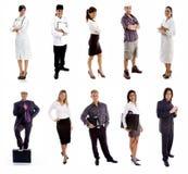 Trabajadores - grupo de personas Imagenes de archivo