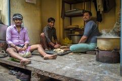 Trabajadores indios Fotografía de archivo libre de regalías