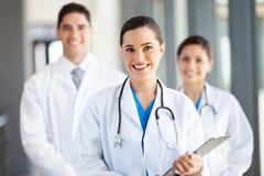 Trabajadores médicos del grupo Fotos de archivo libres de regalías