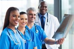 Trabajadores médicos del grupo Fotografía de archivo libre de regalías