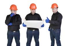 Trabajadores manuales de las personas Foto de archivo libre de regalías