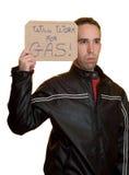 Trabajará para el gas Imágenes de archivo libres de regalías