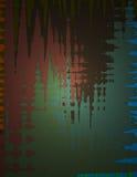 Trabajo abstracto de la pintura Foto de archivo libre de regalías