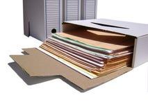 Trabajo administrativo Foto de archivo libre de regalías