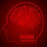 Trabajo de cerebro 1 Fotos de archivo libres de regalías