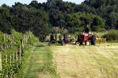 Trabajo de la granja Foto de archivo libre de regalías