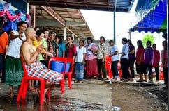 Trabajo de la ordenación en Tailandia Fotos de archivo libres de regalías