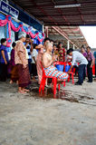 Trabajo de la ordenación en Tailandia Fotografía de archivo