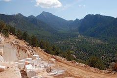 Trabajo de mármol del día de la mina Fotografía de archivo libre de regalías