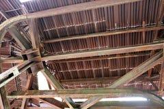 Trabajo de metalistería oxidada Imagen de archivo libre de regalías
