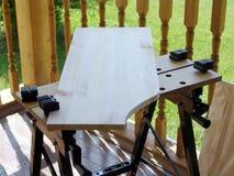 Trabajo del carpintero Imagen de archivo