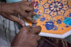 Trabajo del mármol Fotografía de archivo libre de regalías