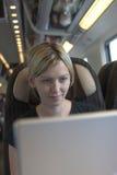 Trabajo del tren Foto de archivo libre de regalías