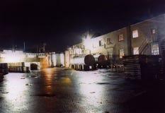 Trabajo del turno de noche Fotografía de archivo libre de regalías