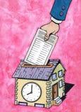 Trabajo doméstico Ilustración del Vector