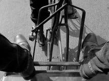 Trabajo duro y paseo caliente Imagen de archivo libre de regalías