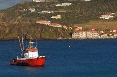 Trabajo en el mar Imagen de archivo libre de regalías