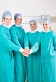 Trabajo en equipo médico Fotos de archivo