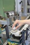Trabajo en la planta de fabricación Fotografía de archivo