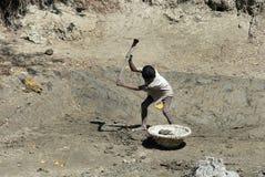 Trabajo infantil Imágenes de archivo libres de regalías