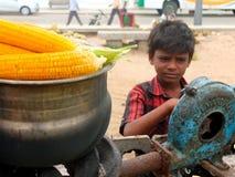 Trabajo infantil en la India Fotos de archivo libres de regalías