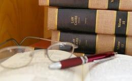 Trabajo legal Fotografía de archivo
