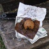 Trabajo para la comida Imágenes de archivo libres de regalías