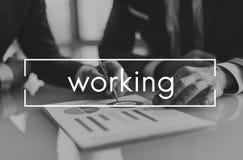 Trabajo Team Business Career Concept Foto de archivo libre de regalías