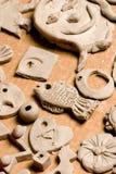 Trabajos de la arcilla Imagen de archivo