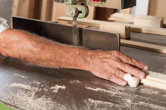 Trabajos de la carpintería Imagen de archivo