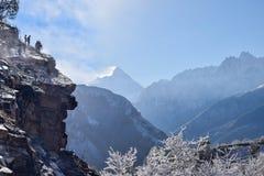 Trabajos de la organización del camino de la frontera que trabaja en Himalaya Imagen de archivo libre de regalías