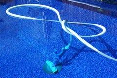 Trabajos de la piscina Imagen de archivo