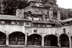 Trabajos de la teja de Moravian Imagen de archivo libre de regalías
