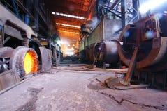 Trabajos del hierro de la acería Imagen de archivo libre de regalías