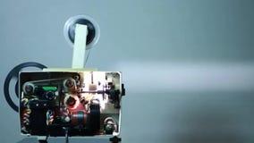 Trabajos del proyector del cine metrajes