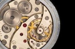 Trabajos del reloj imagen de archivo