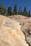 Trabajos del sulfuro Fotografía de archivo libre de regalías