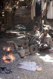 Trabajos infantiles en África Imagen de archivo