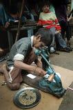 Trabajos infantiles en la India Foto de archivo libre de regalías